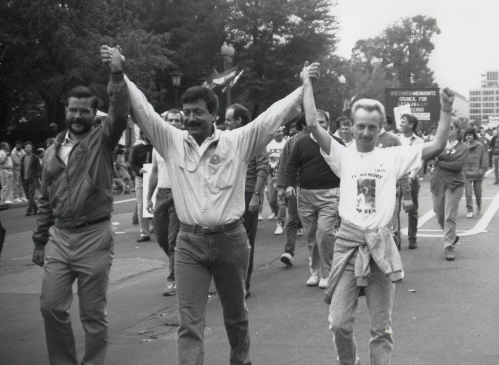 Terry Bean Gay Rights  March 1970s